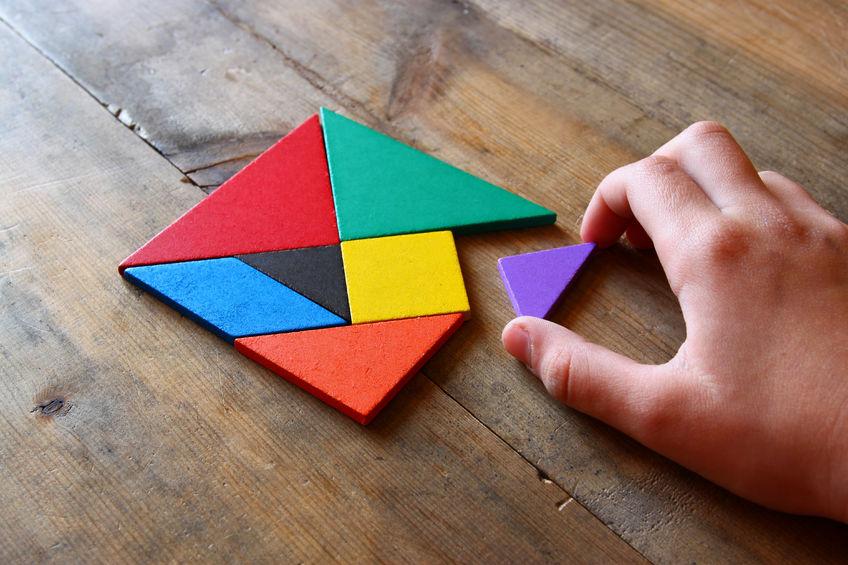 De puzzel compleet