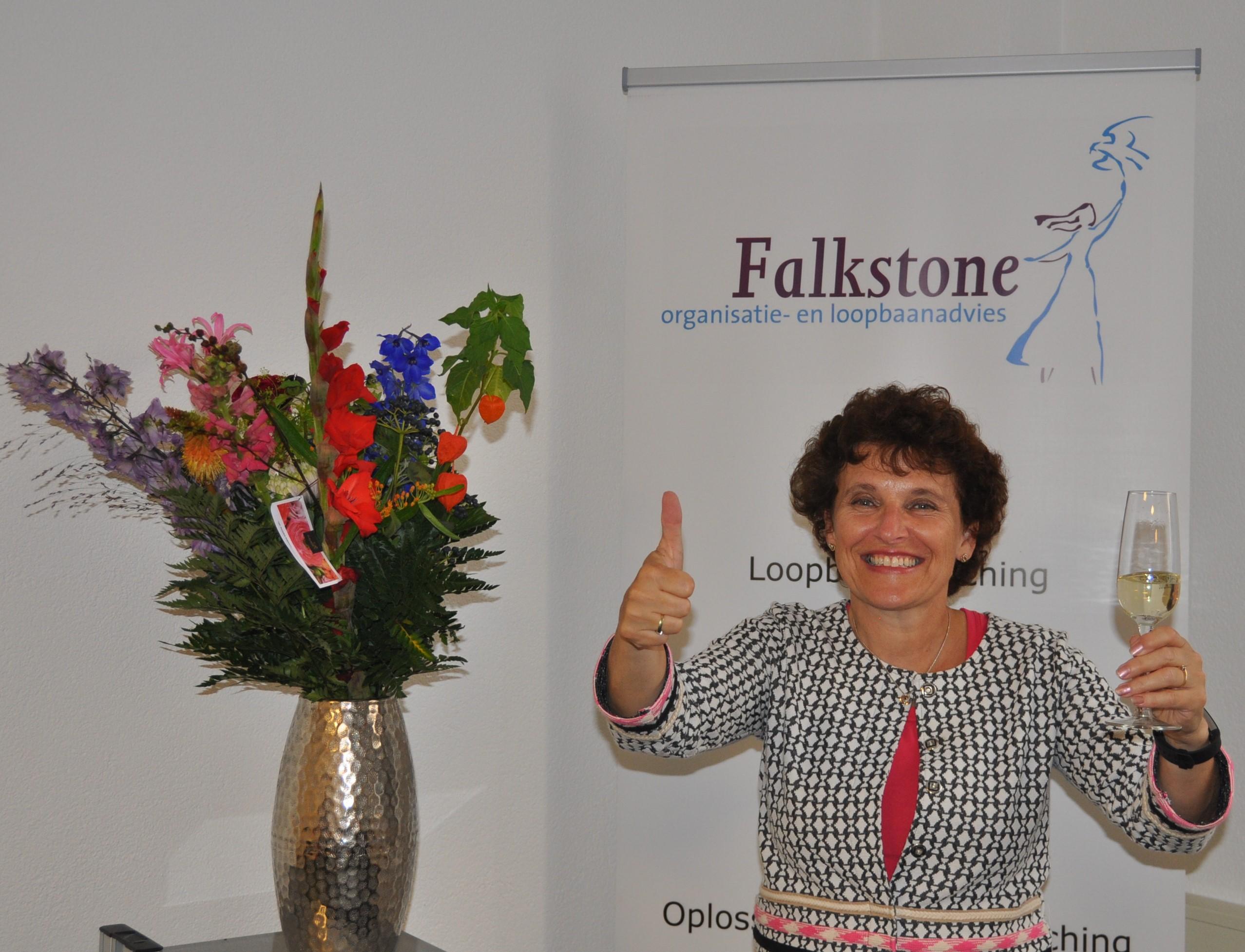 Dorris Falkenstein 15 jaar Falkstone
