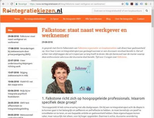 Interview reintegratiekiezen.nl met Dorris Falkenstein